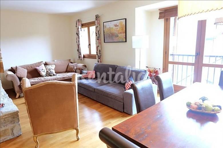 Apartamento en alquiler formigal escarrilla sallent de g llego huesca pirineos espa oles - Formigal apartamentos ...