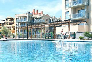 Super moderno apartamento sólo 150m de la playa Castellón