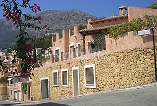 Altea hills romantic villa overlooking the med sea Alicante