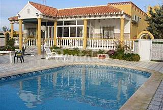 Villa for rent only 50 meters from the beach Murcia