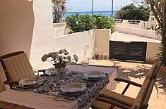 Casa para 5-6 personas en 1a línea de playa Murcia