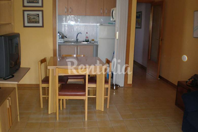 Apartment with 1 bedroom only 100 meters from the beach Tarragona