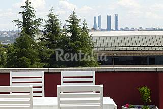 Penthouse Madrid's views Madrid