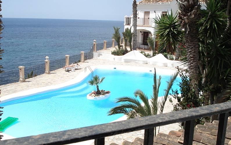 Haus zur Vermietung direkt am Strand - Calabardina, Águilas (Murcia ...