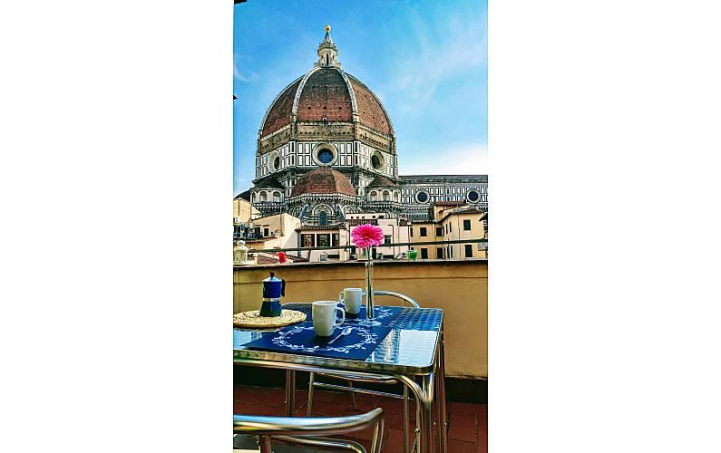 Delizioso Attico Con Terrazza Panoramica Firenze Firenze