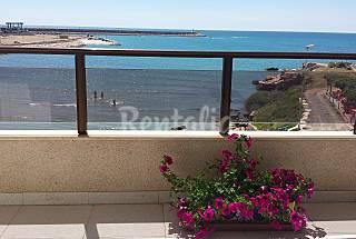 1ª línea  playa con terraza y garaje  Castellón