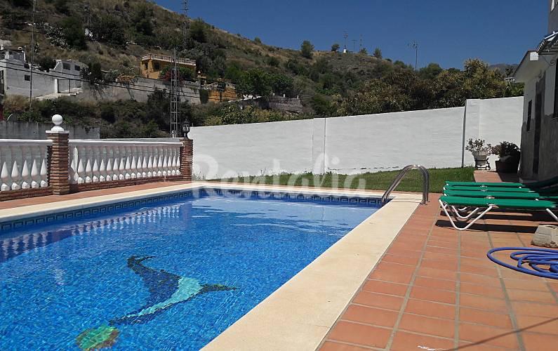 Villa rayao nerja m laga costa del sol for Piscina jardin 727