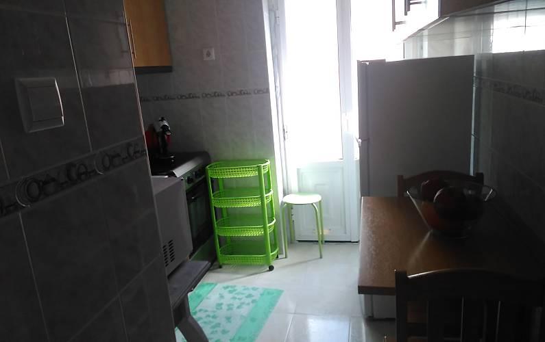 Apartamento Cozinha Leiria Nazaré Apartamento - Cozinha