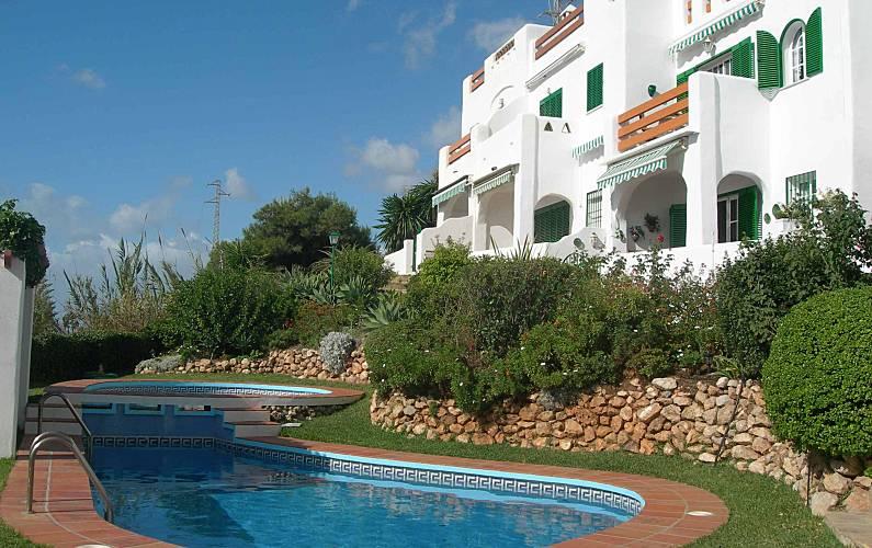 2b57db1858a38 Casa en alquiler en primera línea de playa Málaga - Piscina