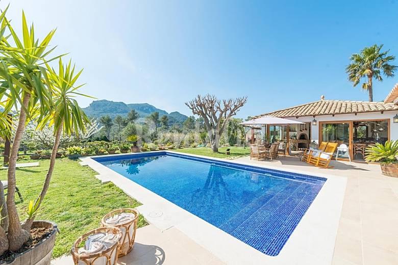 Villa en alquiler en mallorca esporles mallorca sierra for Alquiler maquinaria mallorca