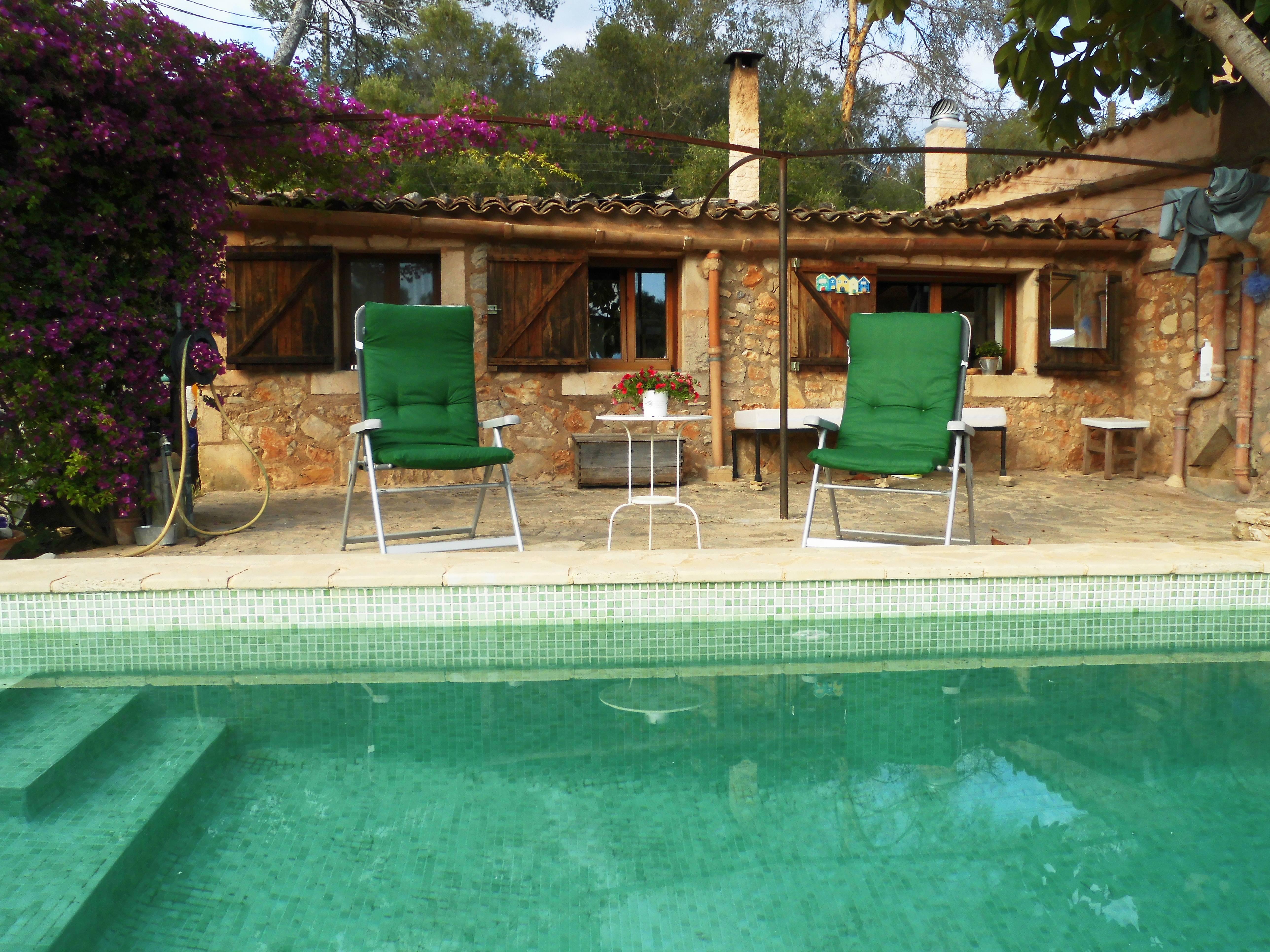 Finca can monget casa con piscina en un lugar muy petra for Casas con piscina mallorca