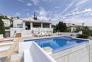 La Aldaba, luxury Ibiza style villa with sea views Alicante