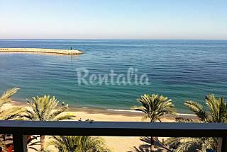 Apartamento 1a línea de playa, tranquilo Almería