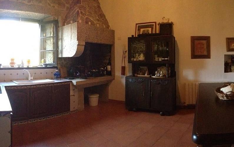 Casa Cocina Pontevedra Tomiño Casa en entorno rural - Cocina