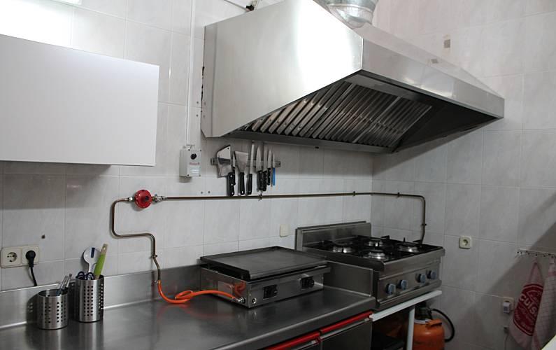 Casa Cocina Ávila Hoyocasero Casa en entorno rural - Cocina