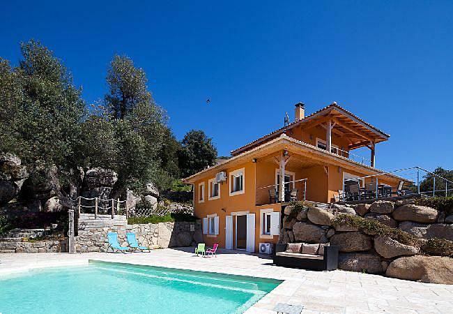 Casa in affitto corsica olmeto corsica del sud for Casa colonica vivente del sud