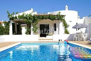 Vivenda na praia da Galé  com WI-FI gratuita Algarve-Faro