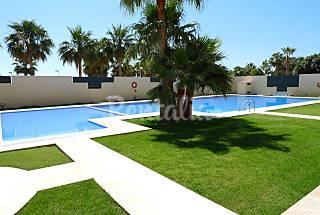 Apartamento primera linea 4/6 pers./ 25 mts.playa Castellón