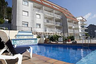 27 Apartamentos para 4-6 pessoas a 300 m da praia Pontevedra