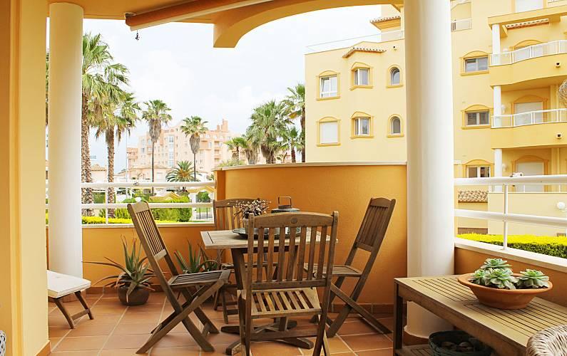 Luxury Terrace Valencia Oliva Apartment - Terrace