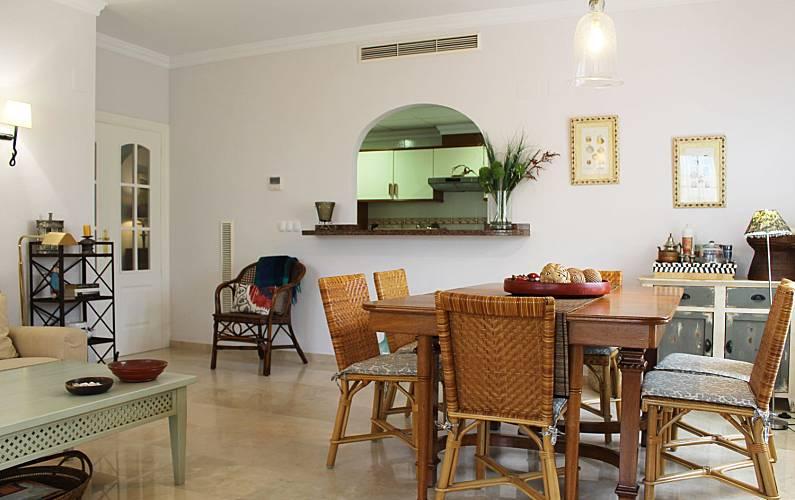 Luxury Dining-room Valencia Oliva Apartment - Dining-room