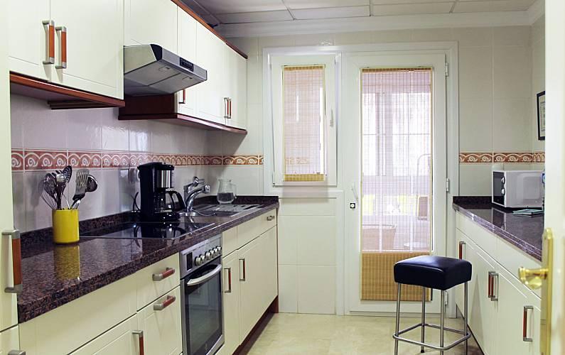 Luxury Kitchen Valencia Oliva Apartment - Kitchen
