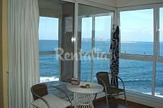 Ático con terraza primera linea, 150 m de la playa Pontevedra