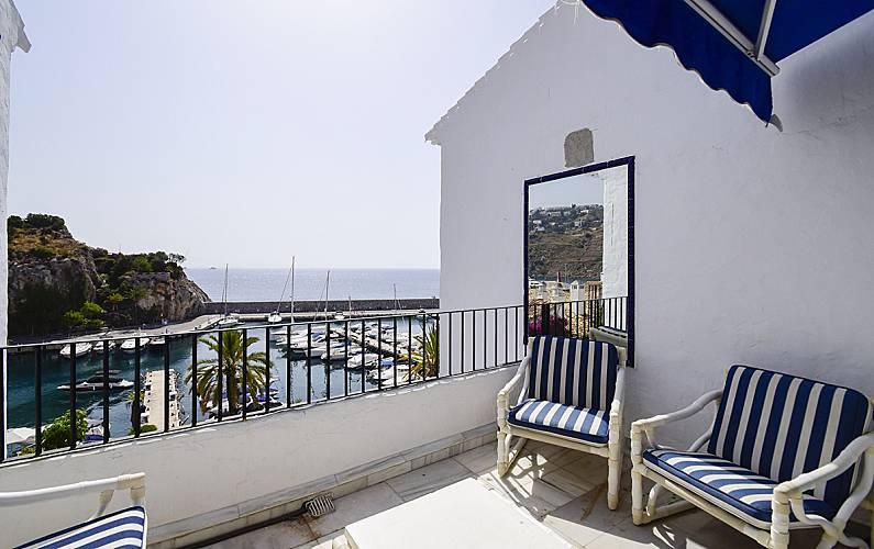 Casa en alquiler a 100 m de la playa la herradura almu car granada costa tropical - Alquiler casa almunecar ...