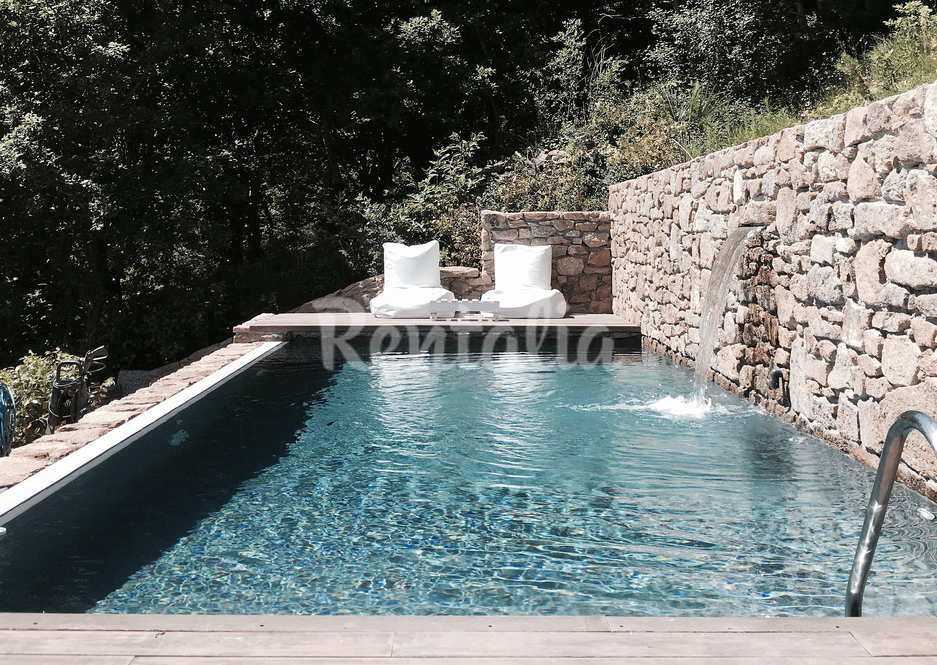 Casa con piscina privada casa do cebro vt 00062 - Piscinas santiago de compostela ...