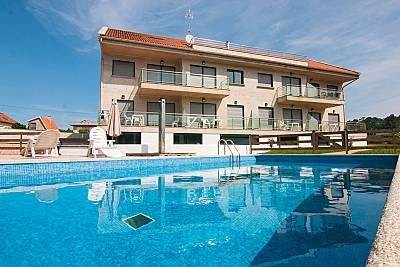 8 Apartamentos a 250 m de la playa de Major Pontevedra