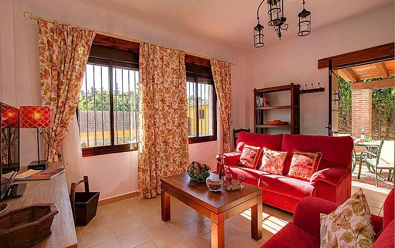 Villas Salón Cádiz Conil de la Frontera Villa en entorno rural - Salón