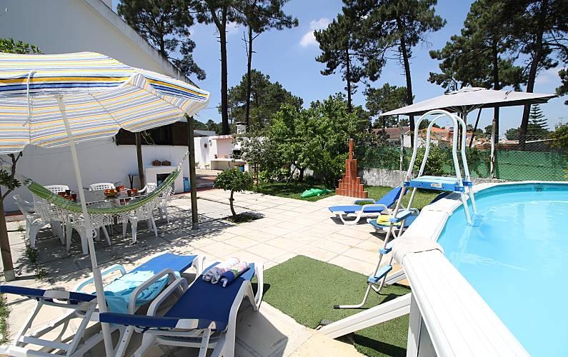 Casa(4 Piscina Setúbal Seixal vivenda - Piscina