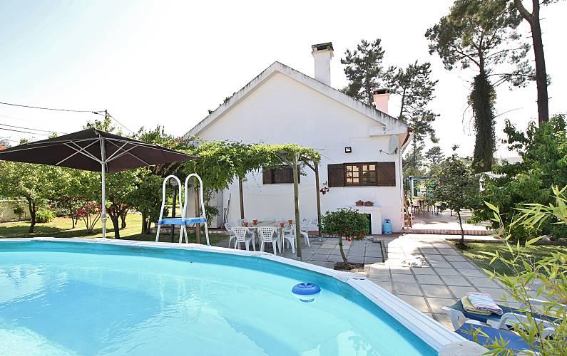 Casa(4 quartos)perto de praias e de Lisboa,piscina Setúbal - Piscina
