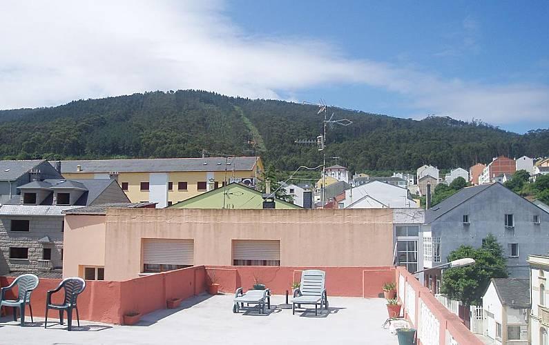 Casa En Alquiler A 500 M De La Playa 150m Terraza Burela
