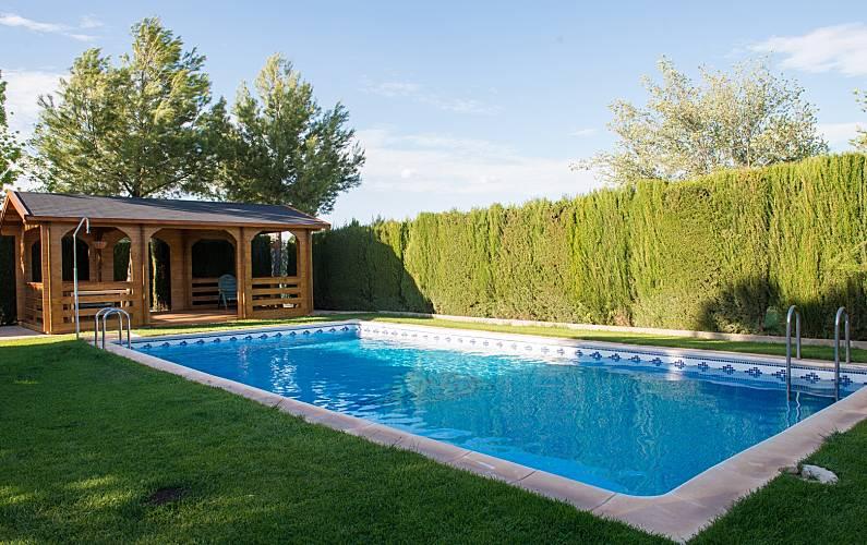Villa de 3 habitaciones en Quintanar de la Orden Toledo - Piscina