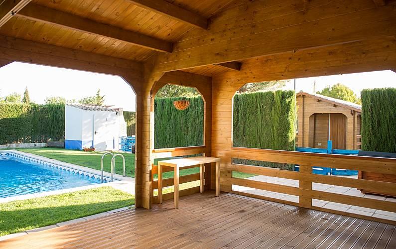 Villa Terraza Toledo Quintanar de la Orden Villa en entorno rural - Terraza