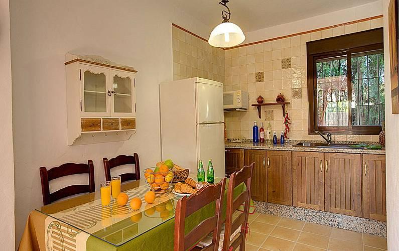 Villas Cocina Cádiz Conil de la Frontera Villa en entorno rural - Cocina