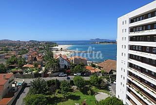 Apartment for 4 people only 100 meters from the beach Pontevedra