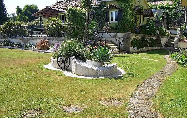Villa con vistas de lujo a 350 m de la playa Pontevedra - Vistas desde la casa