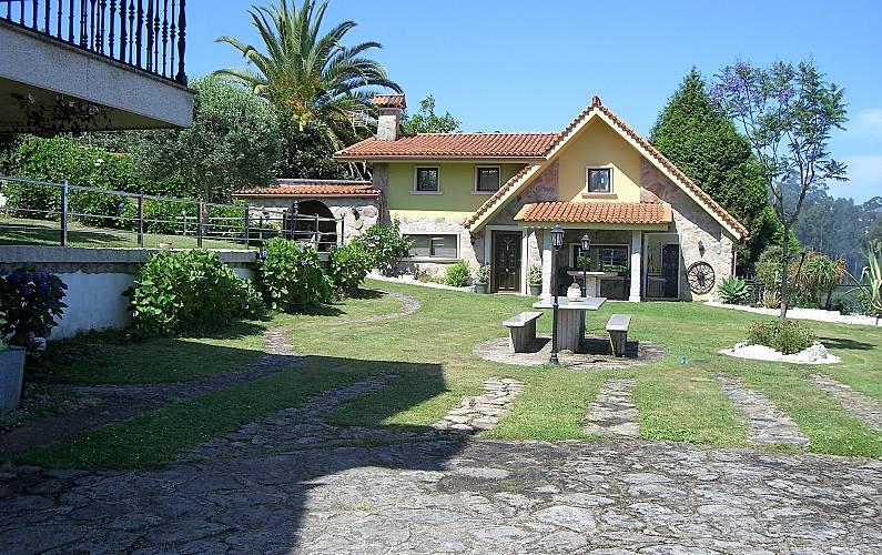 Villa Jardín Pontevedra Bueu villa - Jardín