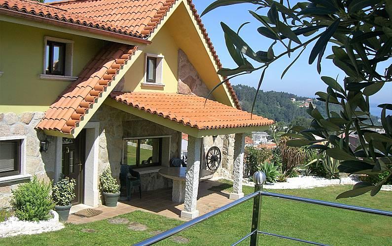 Villa con vistas de lujo a 350 m de la playa Pontevedra - Exterior del aloj.