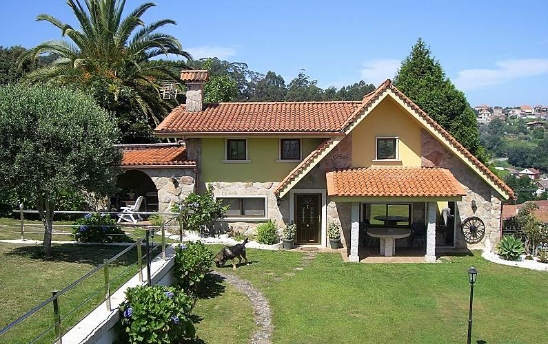 Villa Exterior del aloj. Pontevedra Bueu villa - Exterior del aloj.