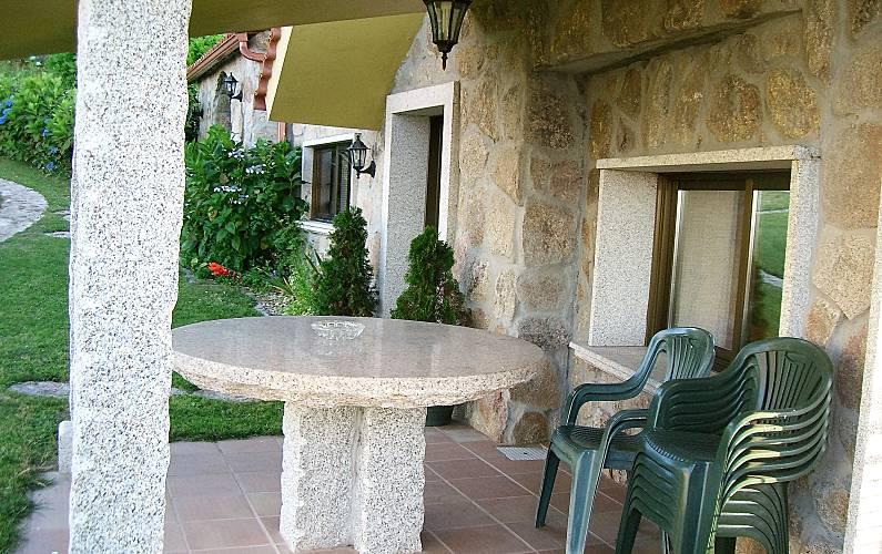 Villa Terraza Pontevedra Bueu villa - Terraza