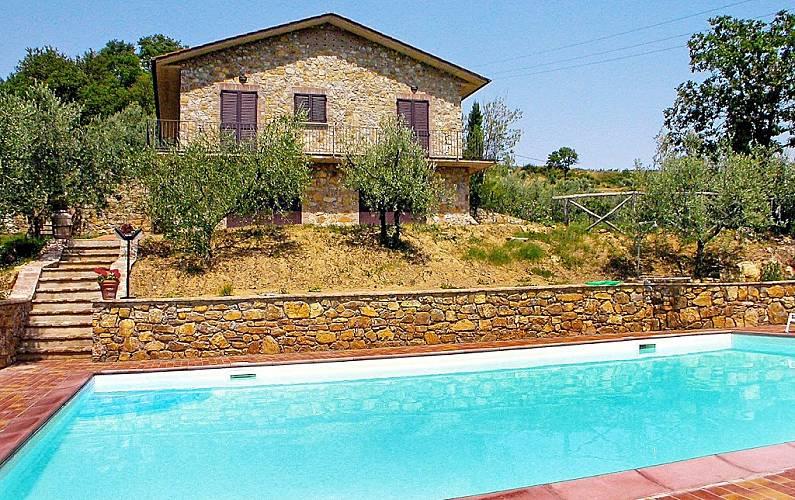 Maison pour 6 personnes en toscane cennina bucine for Acheter une maison en toscane