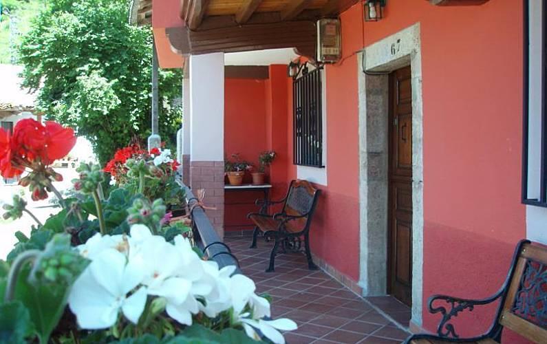 Casa Terraza Asturias Amieva Casa en entorno rural - Terraza