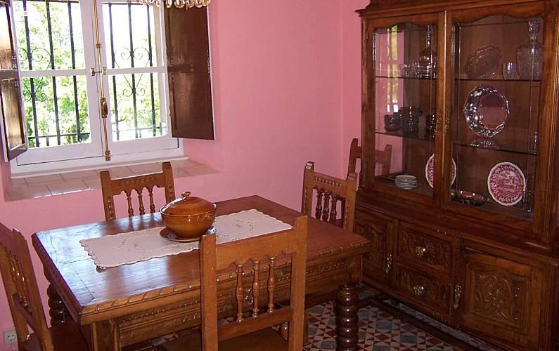Casa Comedor Asturias Amieva Casa en entorno rural - Comedor
