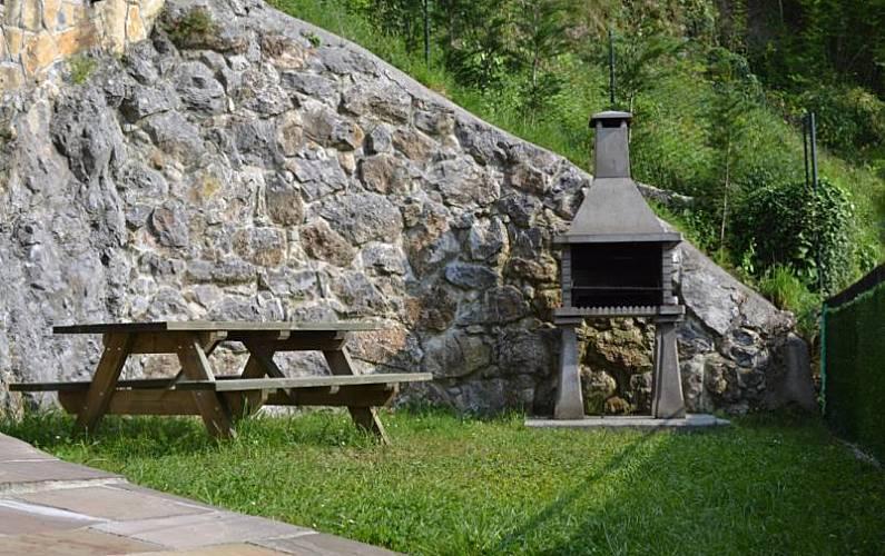 Casa Jardín Asturias Amieva Casa en entorno rural - Jardín