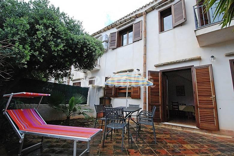 appartamento in affitto sicilia cala rossa terrasini