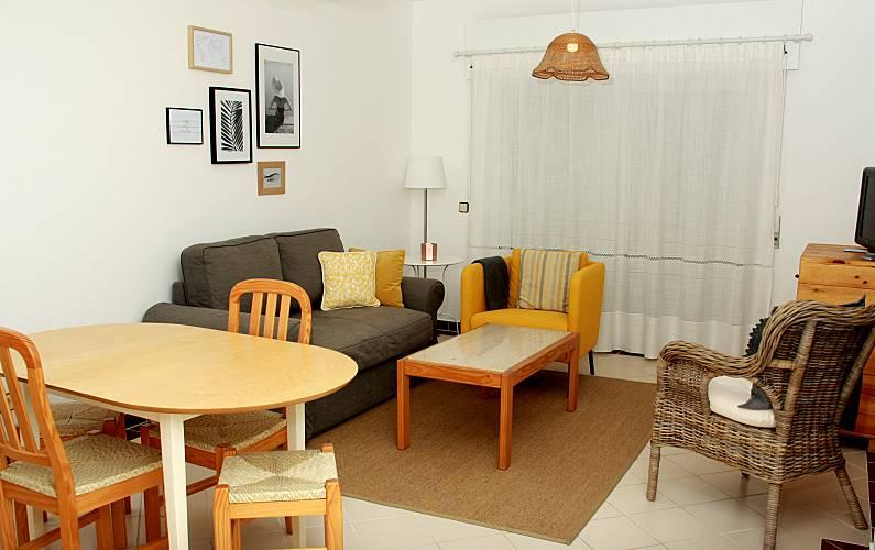 Lovely Living-room Algarve-Faro Portimão Apartment - Living-room