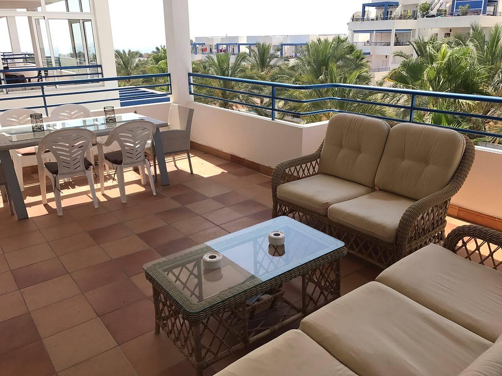 Apartamento en alquiler a 500 m de la playa moj car playa moj car almer a costa de almer a - Apartamentos alquiler mojacar ...